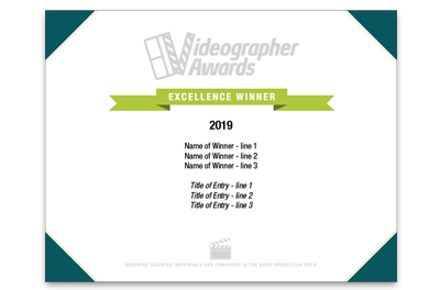 Videographer Awards